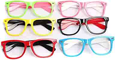Lovely Kids Glasses Without Lens Party Dress Cosplay Props Baby Frame GlassetsDP
