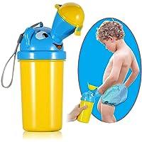 Tragbare Urinal Töpfchen - WENTS Baby Kinder Toilette wasserdichte Upgrade Wasserlassen Werkzeuge Junge Kleinkind Töpfchen Training Notfalltoilette für Camping Auto Reise
