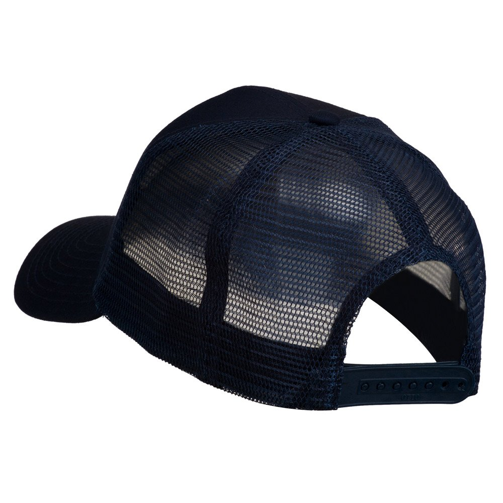 e4Hats.com Truck Embroidered Mesh Back Twill Snapback Cap