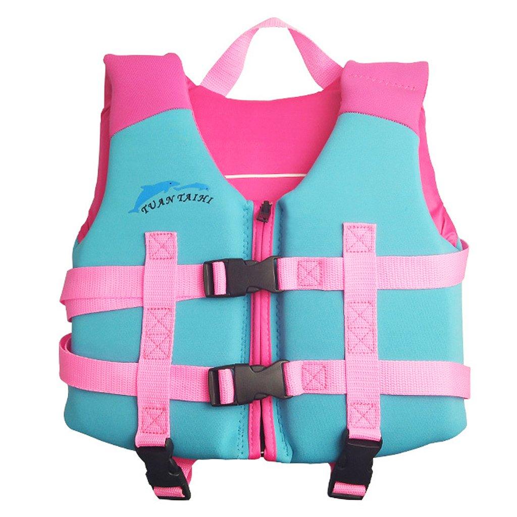 Hony Baby Flotation Swimsuit Kids Detachable Swimwear Diving Beach Surfing Suit Adjustable Swim Vest for Boys Girls Learn to Swim