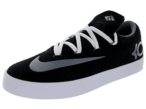 d1f72fd54e09 Amazon.com  Nike Kids KD Vulc (GS) Black Cool Grey White Casual Shoe ...