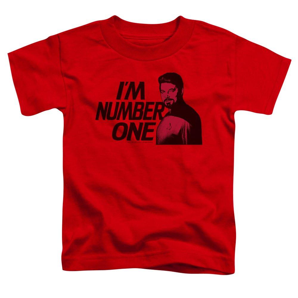 Star Trek Next Generation TV Series Im Number One Little Boys Tod Tee Trevco