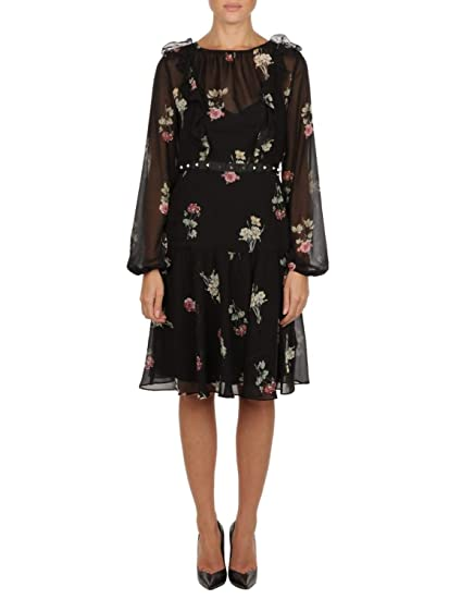 Amazon Liu Black Jo uk Dress Women's Polyester C68106t2163v9676 co YA6YS