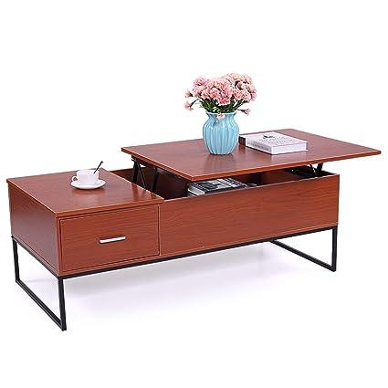 Amazoncom Jaxpety Coffee Table Lift Top Home Living Room