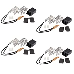 ApplianPar 4 Pack 330031 Range Top Burner Receptacle Kit for Whirlpool Kenmore Sears Roper WB17X210 5303935058