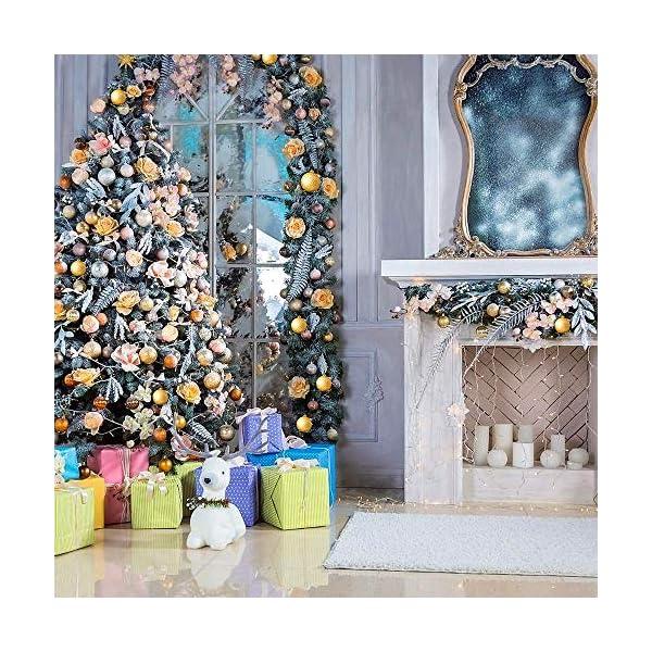 WELLXUNK Palline di Natale, 24pcs Albero di Natale Palla Decorazioni, Palline di Natale Opache, Palline di Natale Infrangibili, Palle infrangibili per Decorazioni Natalizie da Appendere (Verde) 7 spesavip