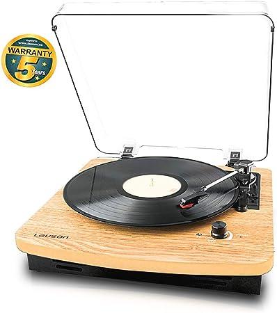 Lauson CL608 Tocadiscos Vintage con Bluetooth   Reproductor de ...