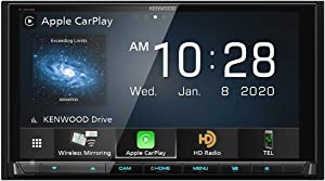 "Kenwood eXcelon Reference DDX9907XR 6.8"" DVD Carplay Multimedia Receiver"