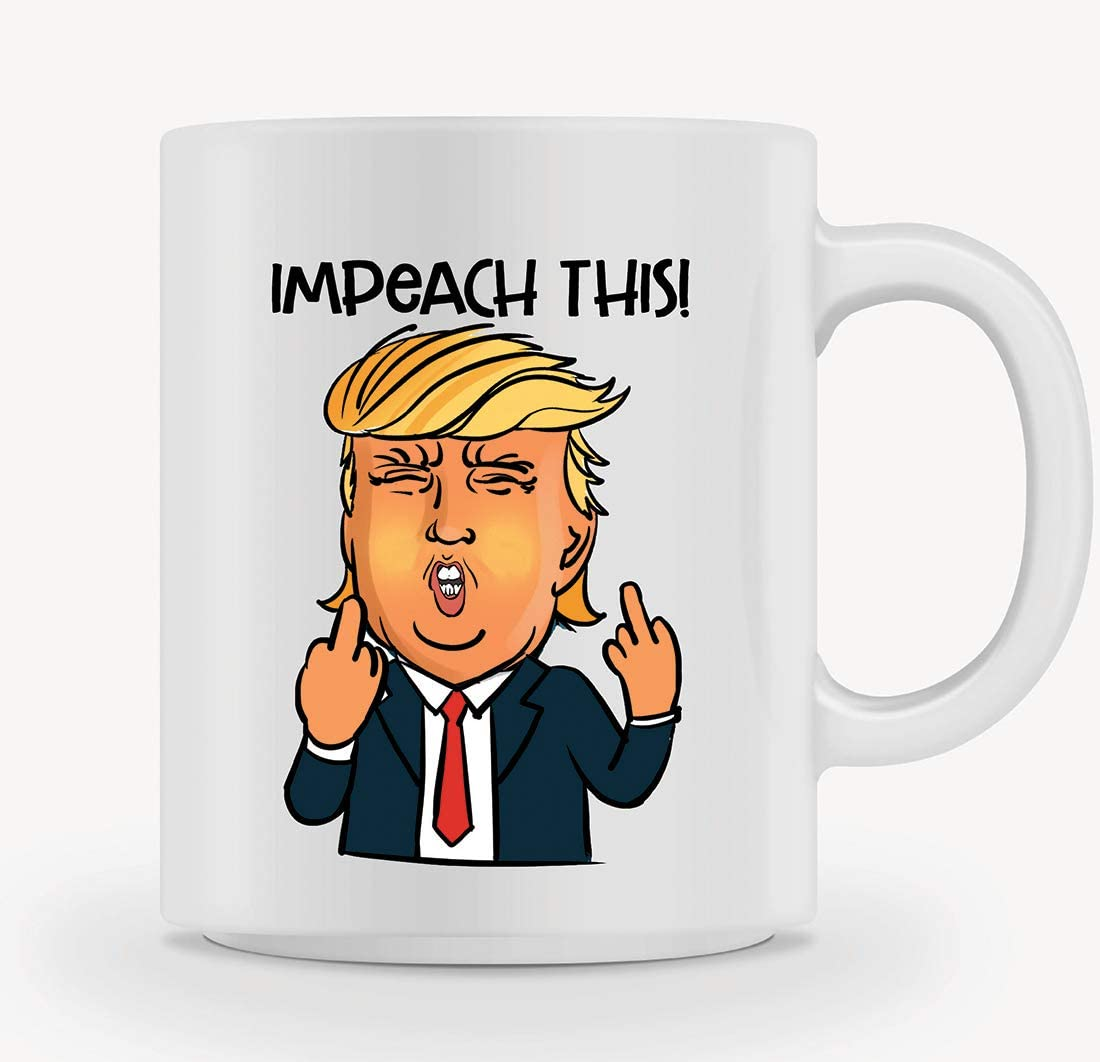 Coffee Mug//Tea Cup Hot New Donald Trump Impeach This Mug 11OZ