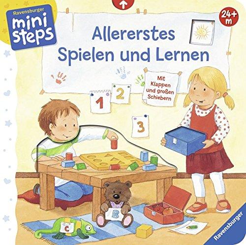 Allererstes Spielen und Lernen: Ab 24 Monaten (ministeps Bücher) Pappbilderbuch – 17. Juni 2016 Sandra Grimm Kerstin M. Schuld Ravensburger Buchverlag 3473316946