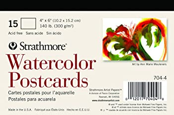 Strathmore Blank Postcard Paper For Watercolor