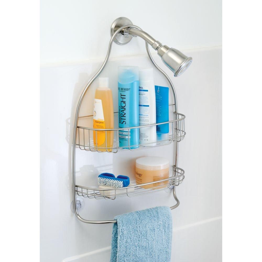 Amazon.com: InterDesign Nogu Hanging Shower Caddy – Wide Bathroom ...