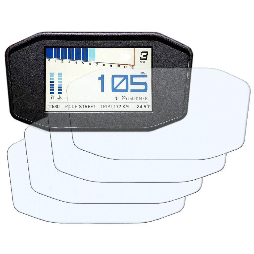 Speedo Angels Dashboard Screen Protector for KTM 690 790 Duke - 2 x Ultra Clear & 2 x Anti Glare