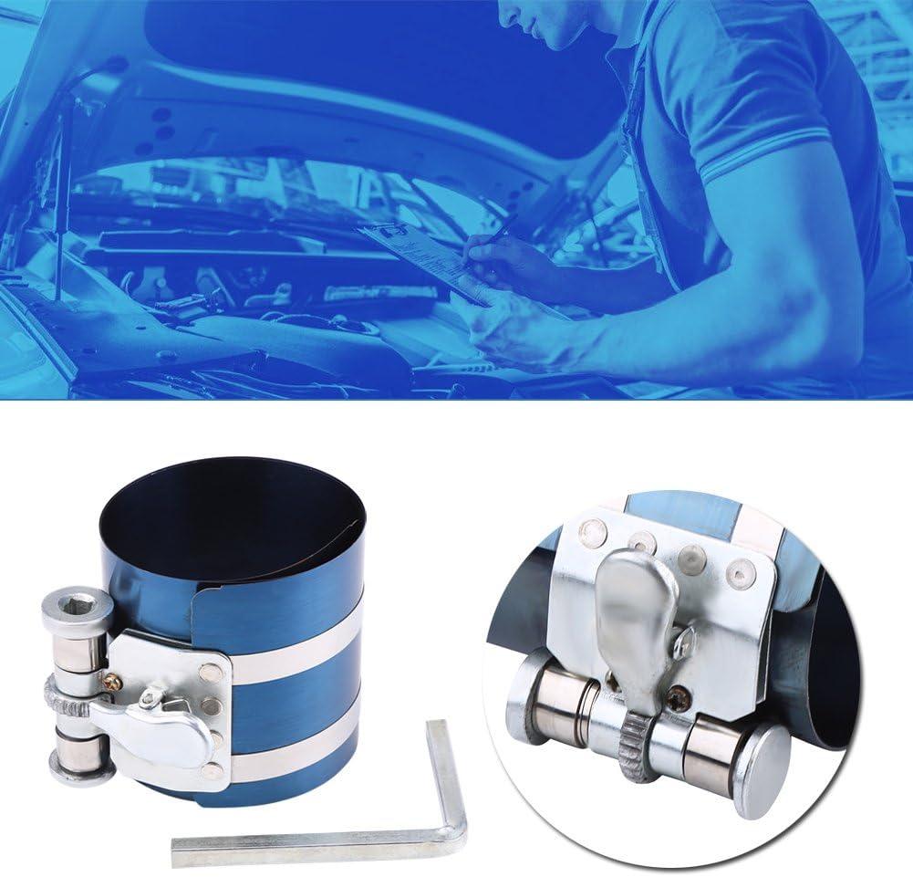 iFCOW Compresor de Anillo de Pist/ón Motor de Autom/óvil Herramienta de Trinquete de Banda de Instalador de Compresor de Anillo de Pist/ón 3 Pulgadas