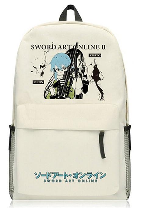 8e9123ede799 Amazon.com: Siawasey Sword Art Online Anime SAO Cosplay Daypack ...