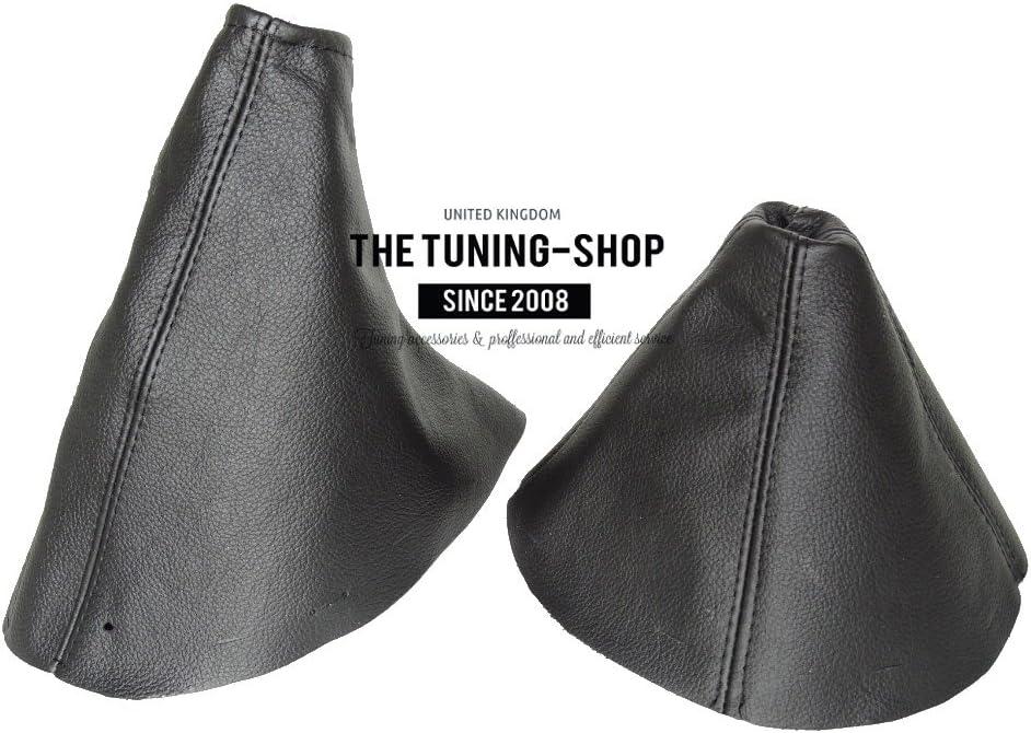 Gear /& Handbrake Gaiter Black Leather