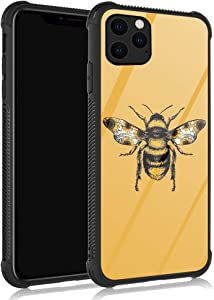 ZHEGAILIAN iPhone 11 Pro Case,Sunflower Bee iPhone 11 Pro Cases for Girls/Women,UNBreak Reinforced Corners Fashoin Back Cover Soft TPU Bumper Frame Full Body Case Designed for iPhone 11 Pro Unique