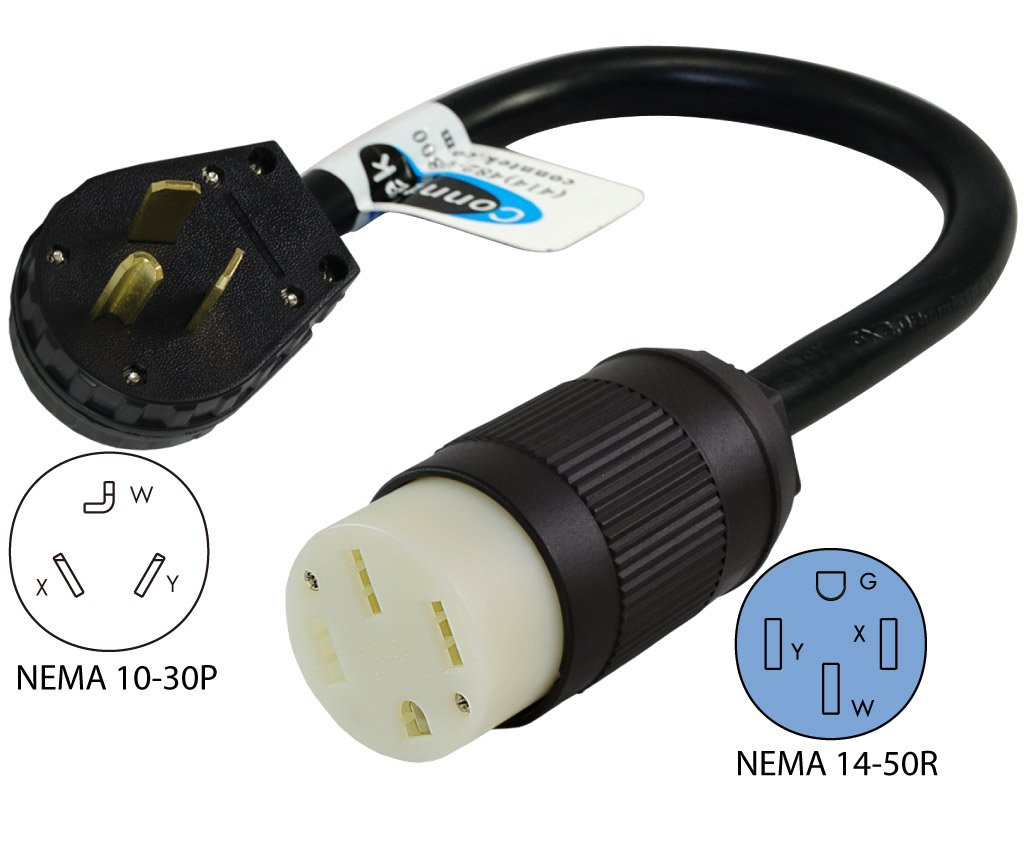 Nema 6 50 Plug Wiring Diagram 29 Images 30r Sl1024 Amazon Com Conntek 30 Amp 10 30p Dryer To
