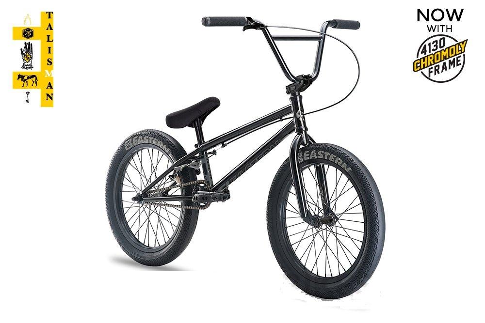 Eastern Talisman BMXバイク2018自転車ブラック B077NX6WYZ
