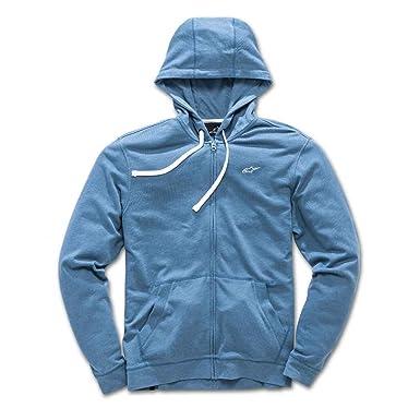 Alpinestars 1018 - 53008 - Sudadera con Capucha - Hombre, Hombre, Color Azul, tamaño FR : Amazon.es: Deportes y aire libre