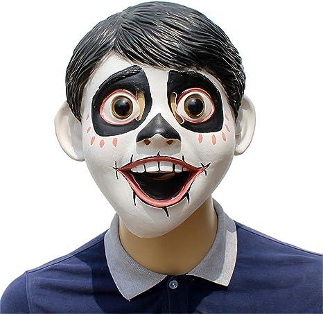 VUKUB Soñando Alrededor De La Máscara De Coco Niño Pequeño Disfraz ...