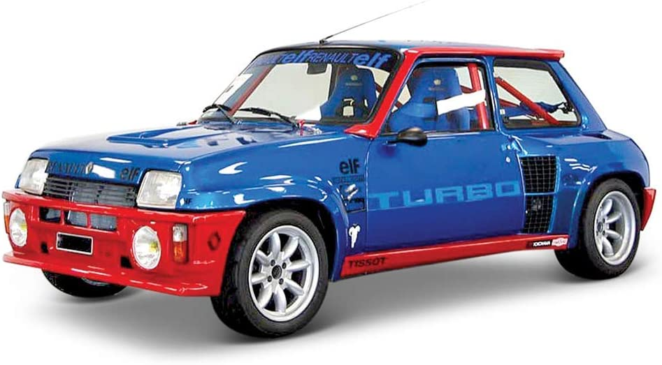 Bburago- Coche Metal Renault 5 Turbo, Color rojo, Escala 1:24 (15621088BL) , color/modelo surtido