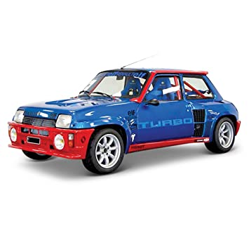 Bburago Coche Metal Renault 5 Turbo Color Rojo Escala 1:24 roja 15621088BL