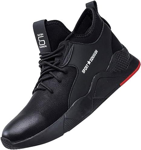 Darringls_Zapatos de hombre,Zapatillas de Running Deporte y Aire Libre Hombres montaña Calzado Gimnasio Atletismo (Negro A, 44): Amazon.es: Ropa y accesorios