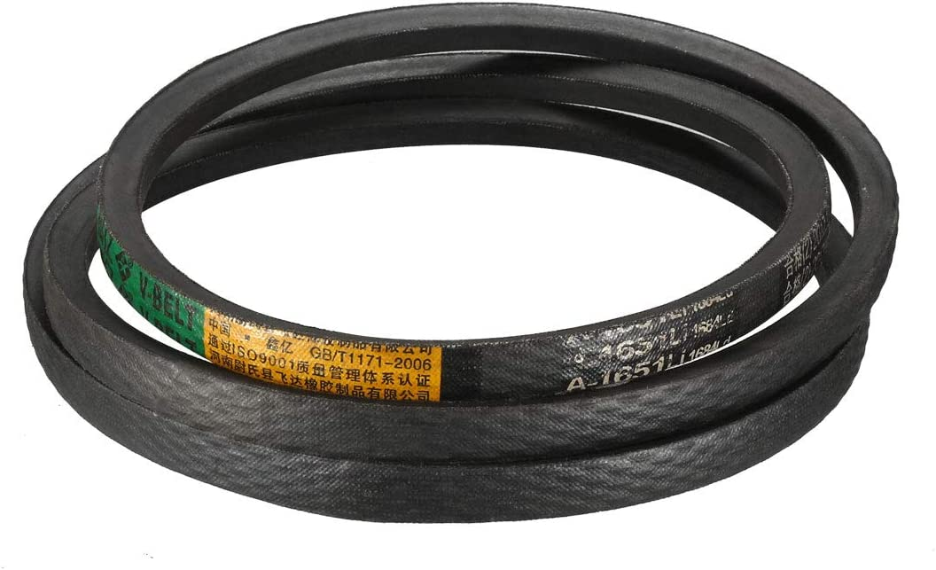 uxcell A-1651//A65 Drive V-Belt Inner Girth 65-inch Industrial Power Rubber Belt