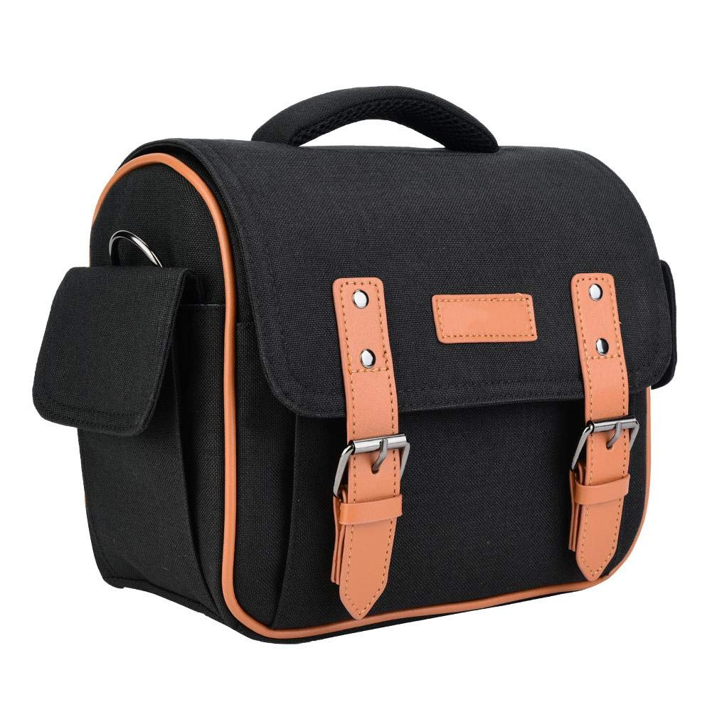 Pomya Camera Bag, Waterproof Single Shoulder Nylon Camera Storage Bag for Canon 600D 650D, Anti-Compact and Crush Resistant by Pomya