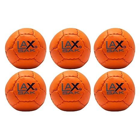 Lax Sak 12 Pack Lacrosse pelota de entrenamiento Mismo peso y ...