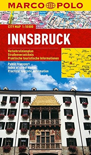 Innsbruck Marco Polo City Map (Marco Polo City Maps)