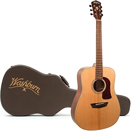 Washburn HD100SWEK Heritage - Guitarra eléctrica acústica de ...
