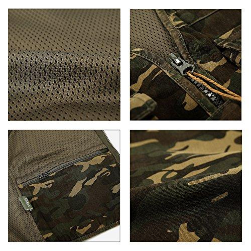 Armé homme Alizeal camouflage Rapide Vert séchage Veste nwFpFgfqYd