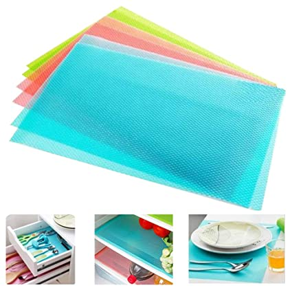 Amazoncom Seaped Refrigerator Mats Can Be Cut Refrigerator Pads - Cut kitchen cabinets to fit refrigerator