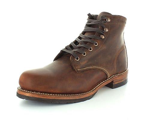 b02e06f372b WOLVERINE 1000 Mile - Premium-Boots EVANS - brown, Size:8.5
