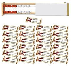 Eta Hand2mind 20-bead Rekenrek Class Kit With 25 Wooden Frames & A Teacher Demonstration Frame