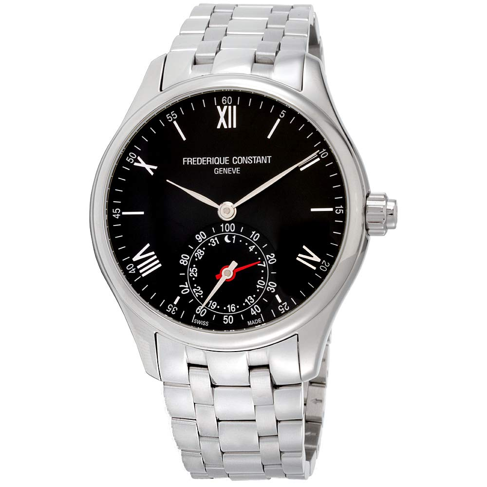 Amazon.com: Frederique Constant Horological Smartwatch Black ...