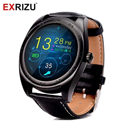Amazon.com: EXRIZU Fashion Bluetooth Smart Watch Heart Rate ...