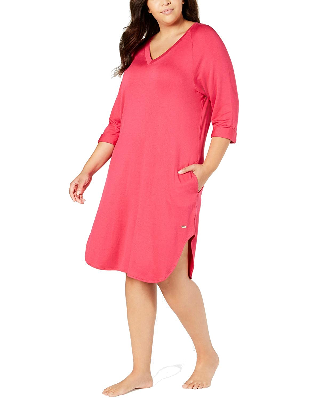 Miss Elaine Womens Sesoire Soft Modal Knit Sleep Top