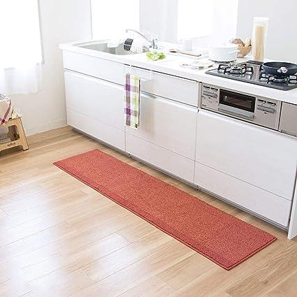 Jiarun Pvc Non Slip Kitchen Runner Set Anti Fatigue Oil Proof Kitchen Floor Mats Floor Mat Padded Comfort Standing Kitchen Mats Carpet Set Amazon De Kuche Haushalt