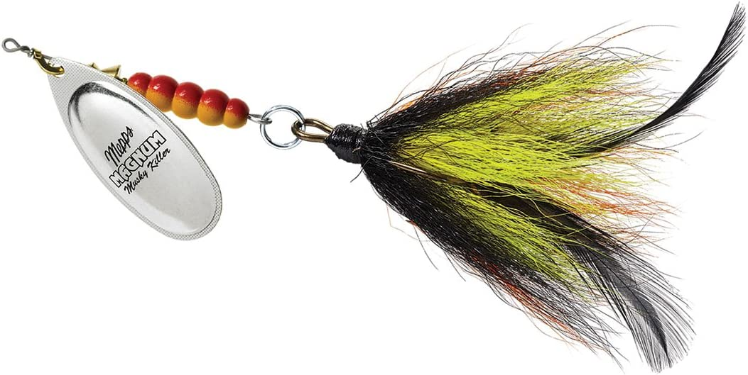 Mepps 151330-Maurice Fishing Equipment, 1 1/4 oz (Magn Musky Killer S-W)