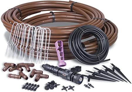 Rain Bird GRDNERKIT Drip Irrigation System Kit - Fit For Large Areas