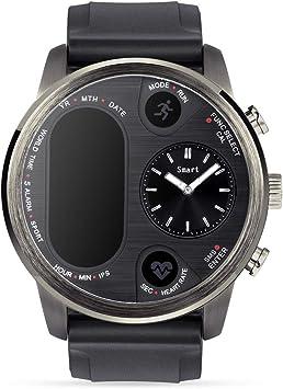 Amazon.com: Reloj inteligente IPS de doble tiempo para ...