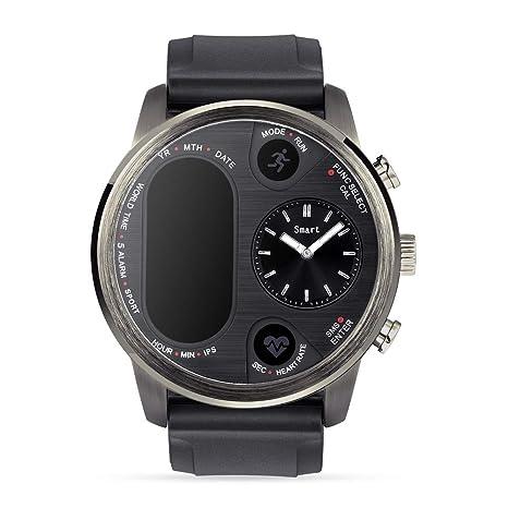 Amazon.com: Reloj inteligente IPS de doble hora para hombre ...