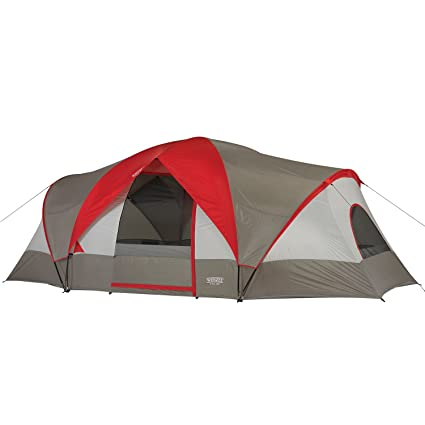 Wenzel Great Basin 10 Person 3 Room Tent  sc 1 st  Amazon.com & Amazon.com : Wenzel Great Basin 10 Person 3 Room Tent : Sports ...