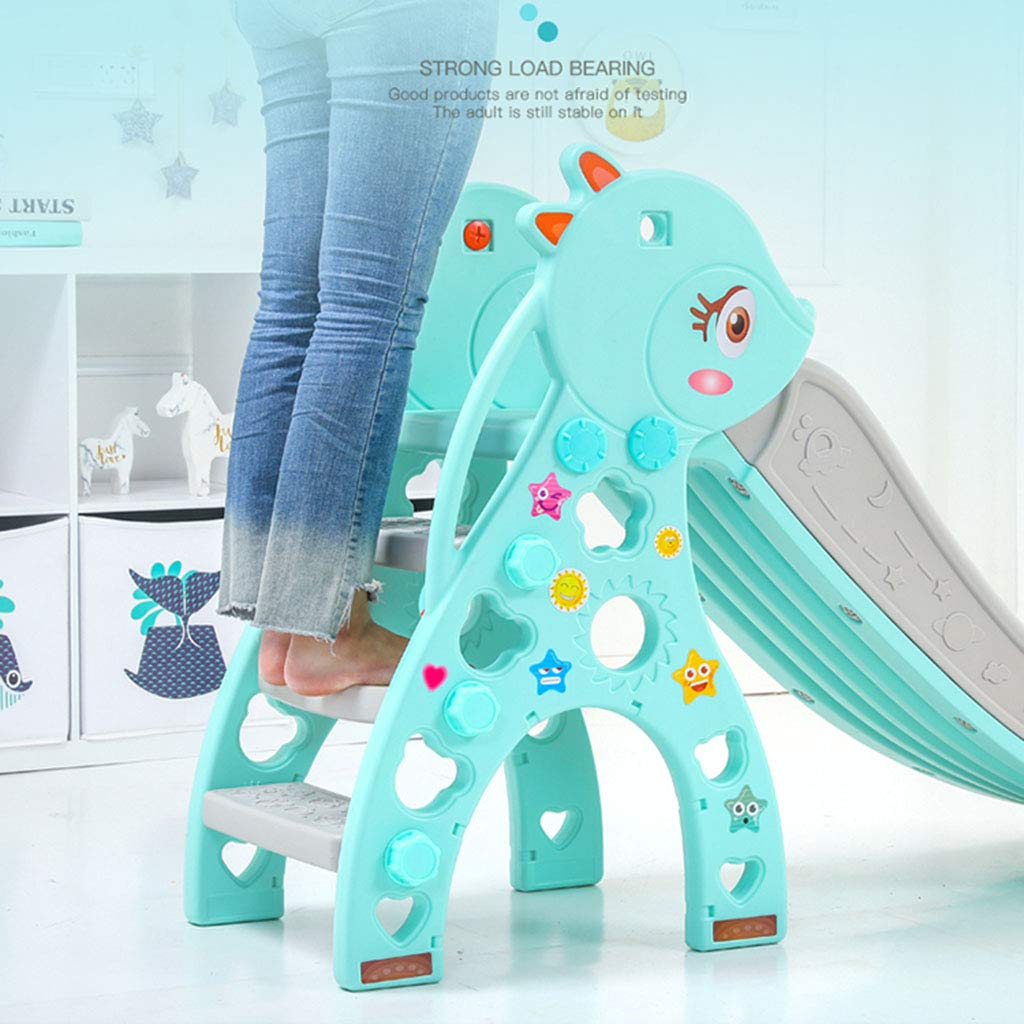 Freestanding Slides Children's Bedroom Small Slide Baby Home Slide Boy and Girl Room Toys Indoor Toy Amusement Park Children's Sports Equipment Multifunctional Folding Storage Children's Slide by Play Sets Playground Equipment (Image #6)