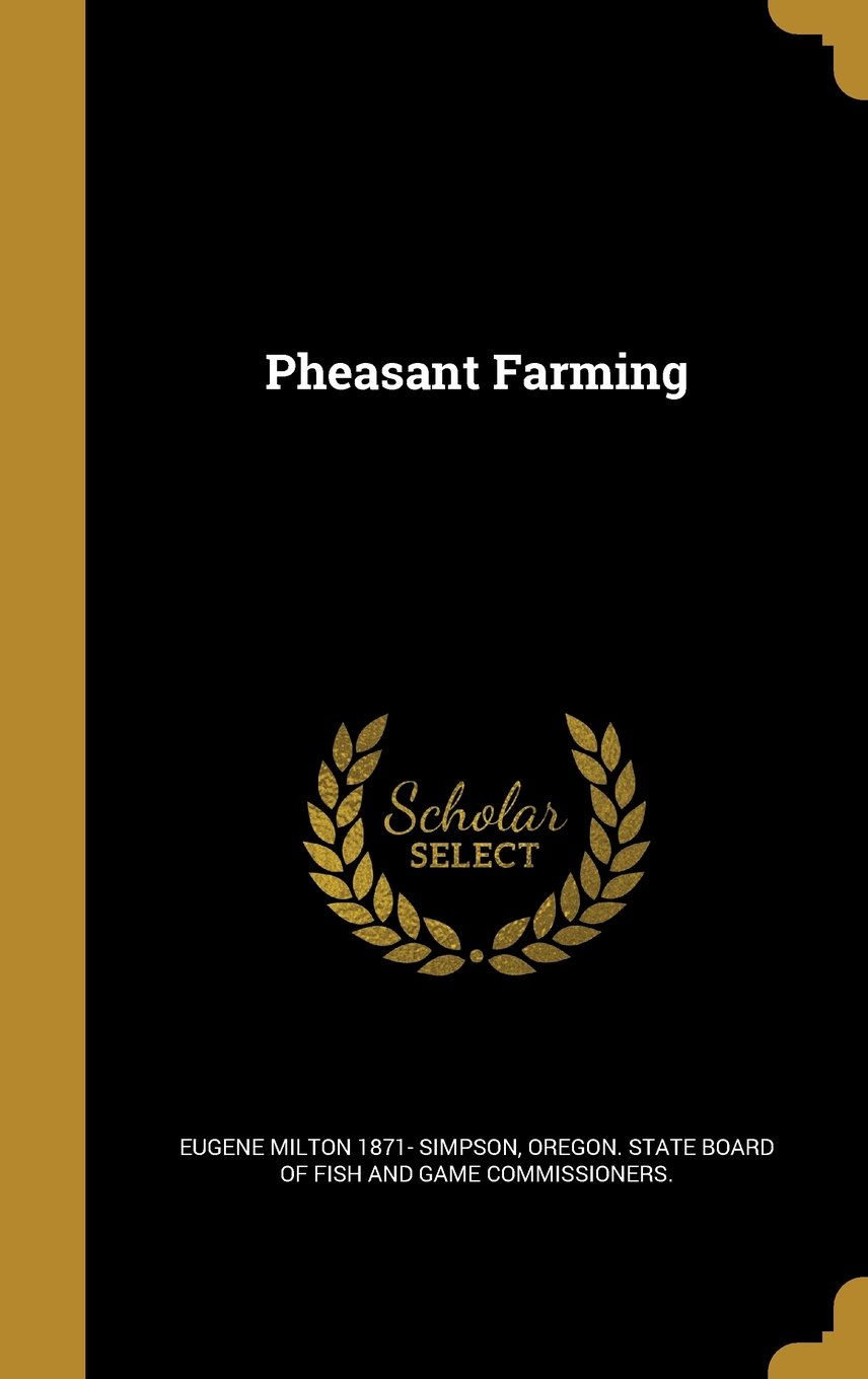 Pheasant Farming ebook