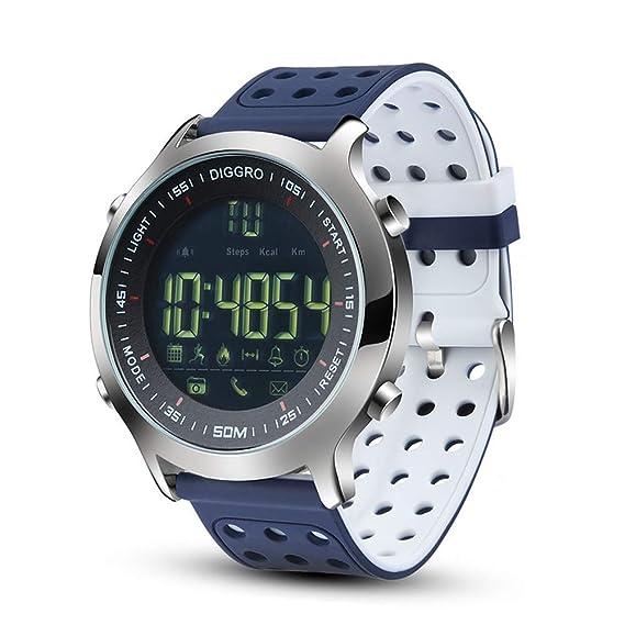 Amazon.com: ATELL Smart Watch for Men Sport Watch 5ATM ...