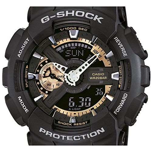 men 39 s watches casio g shock ga 110rg 1aer watch uhr. Black Bedroom Furniture Sets. Home Design Ideas